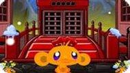 Игра Счастливая Обезьянка: Ниндзя 3