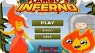 Игра Время Приключений: Большой Огонь Фламбо
