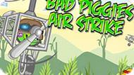 Игра Bad Piggies: Воздушный Удар
