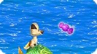Игра Белка И Стрелка 2: Гонка На Рыбе