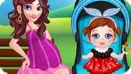 Игра Беременная Мама И Малыш