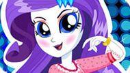 Игра Девушки Эквестрии 3: Рарити В Спа Салоне