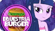 Игра Девушки Эквестрии: Готовить Бургер