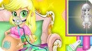 Игра Девушки Эквестрии: Эпплджек Рожает