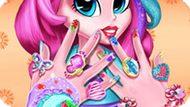 Игра Девушки Эквестрии: Маникюр Пинки Пай