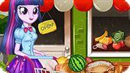 Игра Девушки Эквестрии: Новый Год Твайлайт