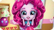 Игра Девушки Эквестрии: Пинки Пай Убирает В Комнате