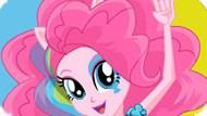 Игра Девушки Эквестрии: Пинки Пай В Стиле Радужный Рок