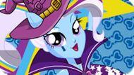 Игра Девушки Эквестрии: Радужный Рок Трикси — Одевалка