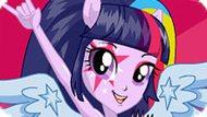 Игра Девушки Эквестрии: Твайлайт Спаркл В Стиле Rainbow Rocks
