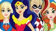 Игра Девушки Супергерои 10: Пазл