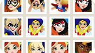 Игра Девушки Супергерои 2: Тренировка Памяти