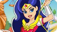 Игра Девушки Супергерои 8: Вандер Вумен Одевалка