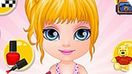 Игра Домашнее Безделье Малышки Барби