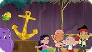 Игра Джейк И Пираты Нетландии: Пазл