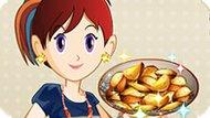 Игра Готовим С Сарой: Печеный Картофель