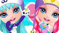Игра Японский Стиль Малышки Барби