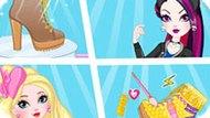 Игра Эвер Афтер Хай 7: Модные Сапожки