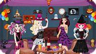 Игра Эвер Афтер Хай: Хэллоуин Вечеринка