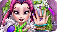 Игра Эвер Афтер Хай: Маникюр Королевы Воронов
