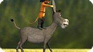 Игра Кот В Сапогах 4: Гонка На Осле