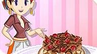 Игра Кухня Сары 4: Шоколадный Торт