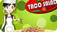 Игра Кухня Сары 5: Тако Салат