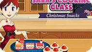 Игра Кухня Сары 7:Новогодние Закуски