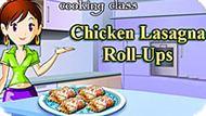 Игра Кухня Сары 8: Конвертики Лазаньи