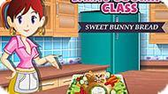 Игра Кухня Сары 9: Сладкий Хлеб-Кролик