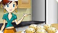 Игра Кухня Сары: Банановые Кексы