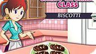 Игра Кухня Сары: Бисквит