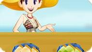 Игра Кухня Сары: Фруктовое Мороженое
