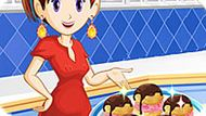 Игра Кухня Сары: Эклер С Мороженым