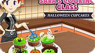 Игра Кухня Сары: Капкейки На Хэллоуин
