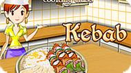 Игра Кухня Сары: Кебаб