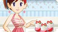 Игра Кухня Сары: Клубничное Парфе