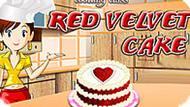 Игра Кухня Сары: Красный Бархатный Пирог