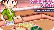 Игра Кухня Сары: Курица По-Пармезански