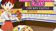 Игра Кухня Сары: Куриный Фахитас
