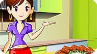 Игра Кухня Сары: Мясной Хлеб
