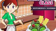 Игра Кухня Сары: Мороженое С Зеленым Чаем