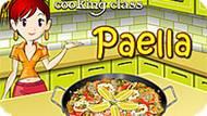 Игра Кухня Сары: Паэлья