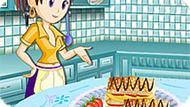 Игра Кухня Сары: Печенье Наполеон