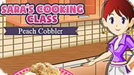 Игра Кухня Сары: Персиковый Коблер