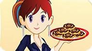 Игра Кухня Сары: Пончики