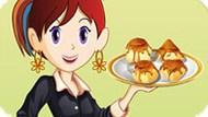 Игра Кухня Сары: Пудинг С Изюмом