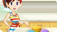 Игра Кухня Сары: Радужные Кексы