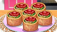Игра Кухня Сары: Ротоло Со Шпинатом