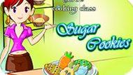 Игра Кухня Сары: Сахарное Печенье